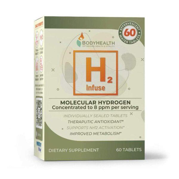 Alma Supplements -H2 Infuse - Molecular Hydrogen Tablets 2
