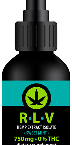 Alma Supplements - RLV Hemp Extract Isolate 750 mg