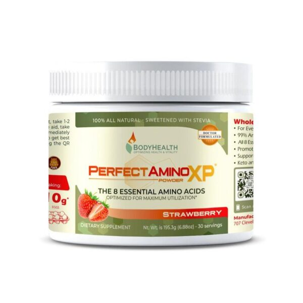 Alma Supplements - Strawberry Perfect Amino