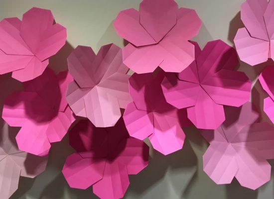 cherry blossom paper flowers