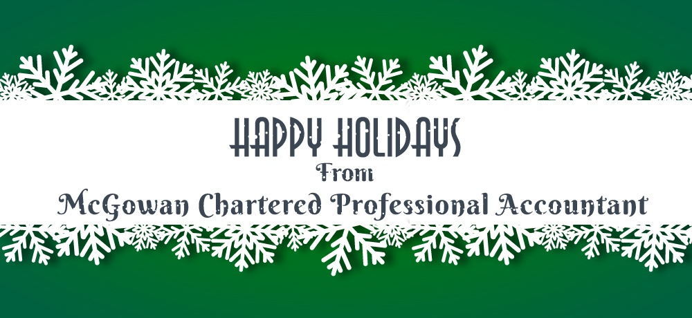 Season's Greetings From MCPA – McGowan Chartered Professional Accountant