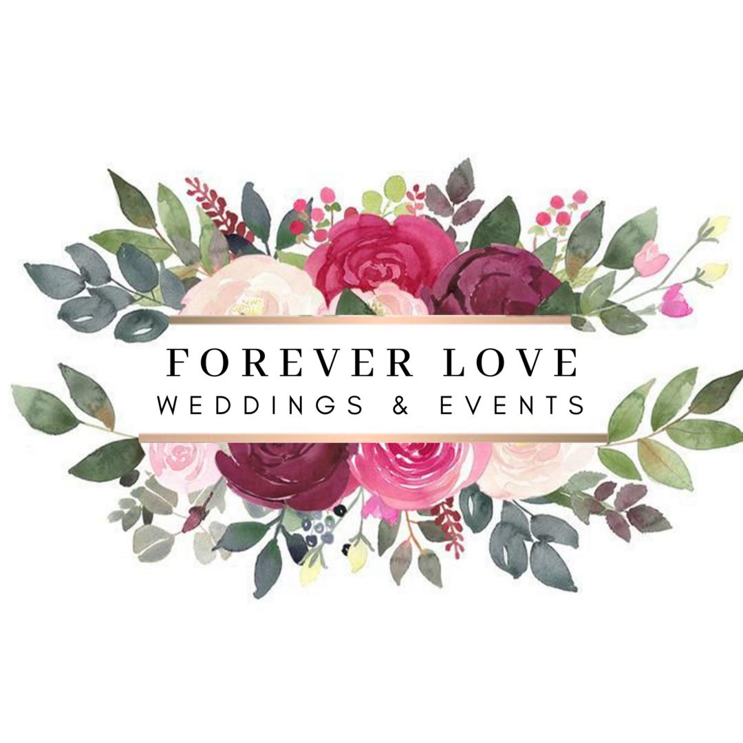 Magenta Shape Wedding Logo (10)