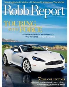Robb Report   October 2011