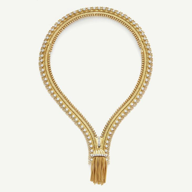 FD IN FOCUS | The Zip Necklace by Van Cleef & Arpels