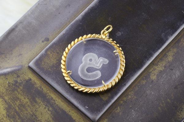 Aldo Cipullo Capricorn Zodiac Pendant
