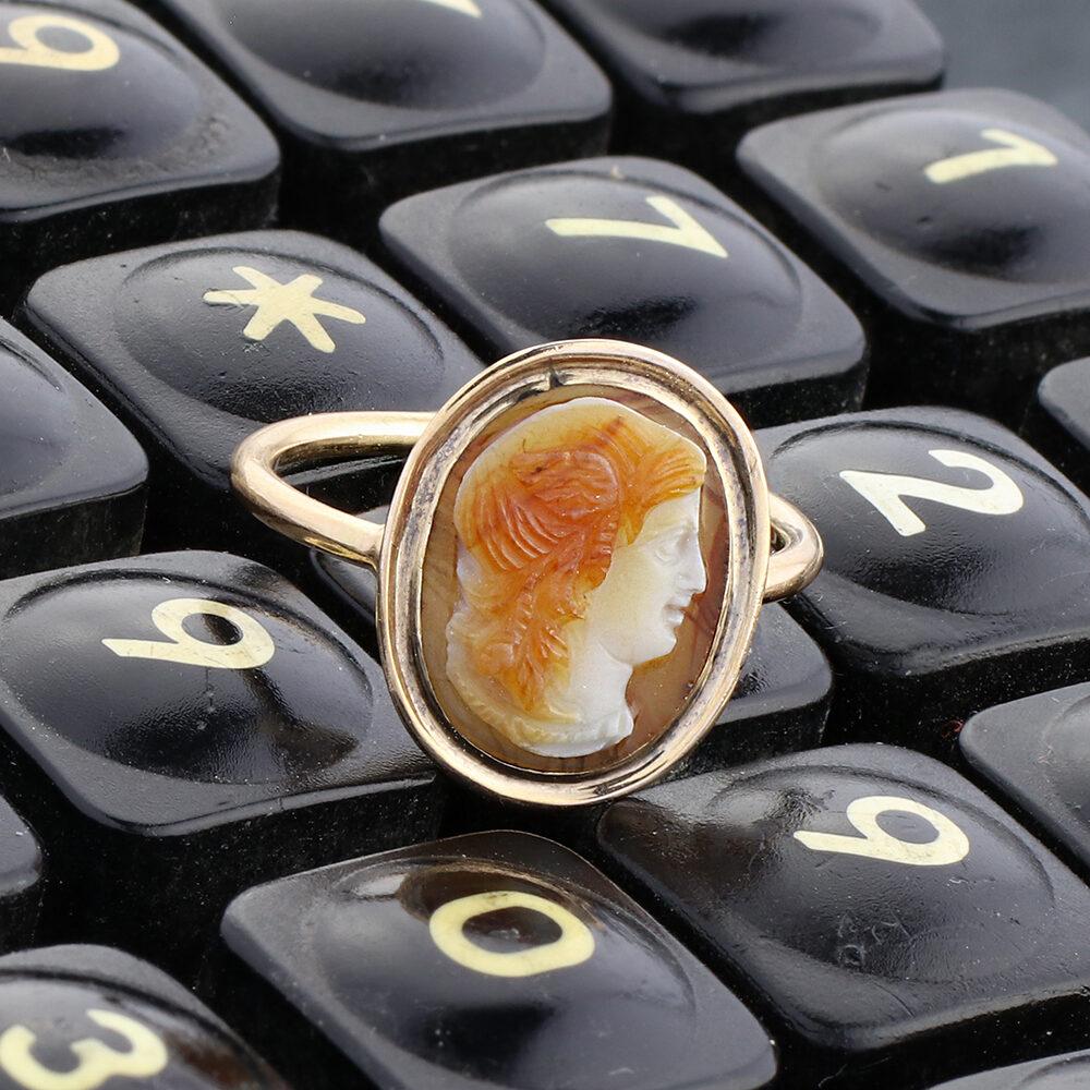 Antique Cameo Ring