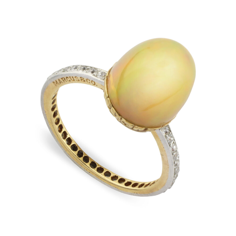 Marcus & Co. Opal and Diamond Ring