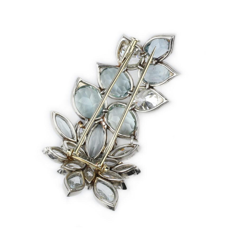 Suzanne Belperron Floral Cluster Brooch