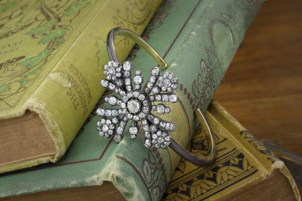 Diamond Maltese Cross Bracelet