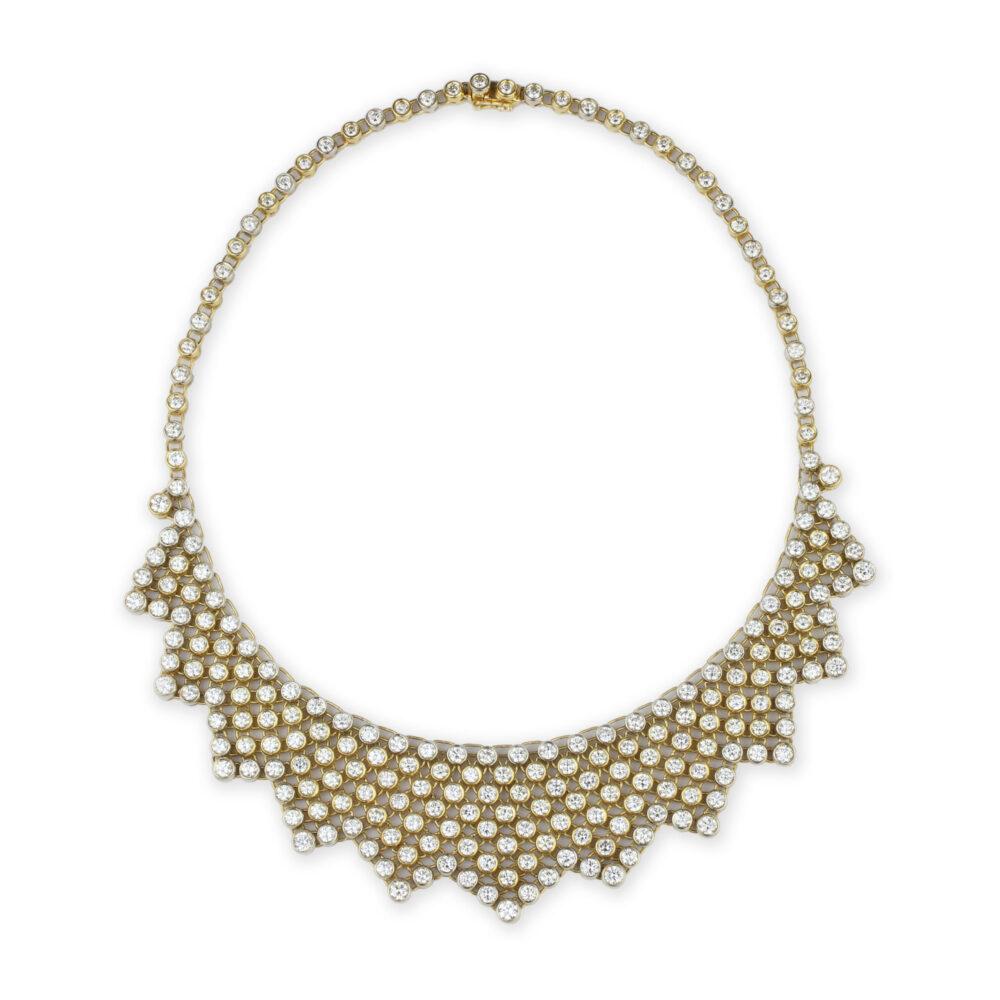 Bulgari Diamond Set Collar Necklace