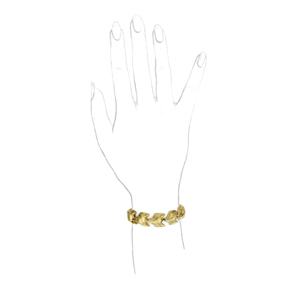 Tiffany & Co. Sculpted Gold Bracelet