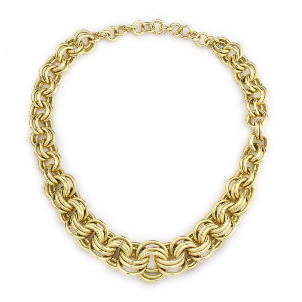 Cartier Gold Link Necklace