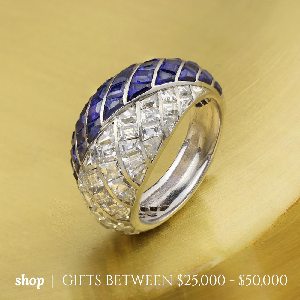 Shop Gifts Between $25,000 - $50,000