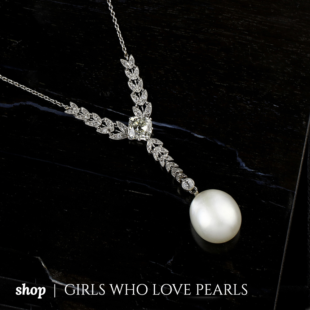 Shop Girls Who Love Pearls