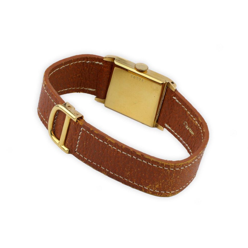 Cartier Gold Wristwatch