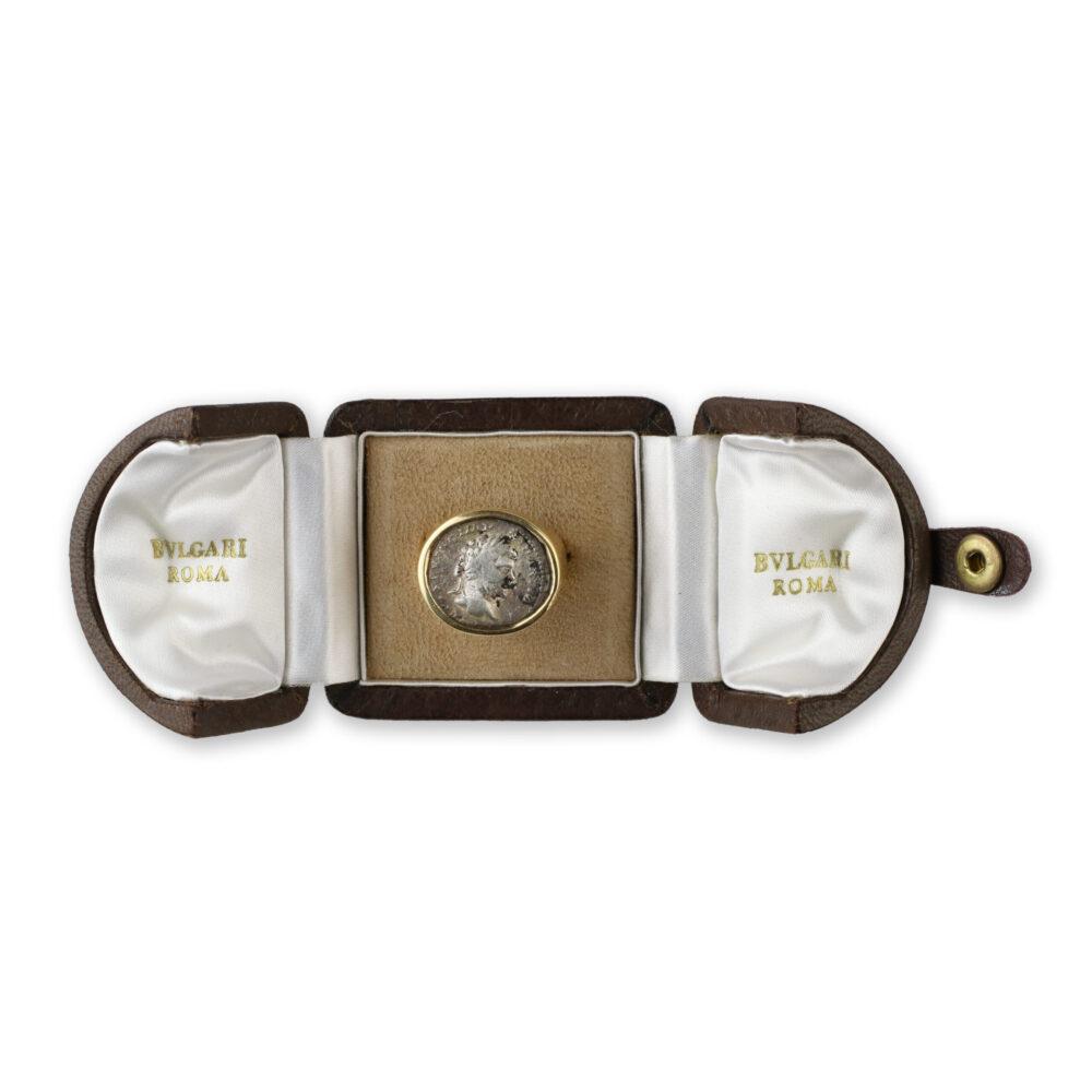 Bulgari Gold 'Monete' Ring
