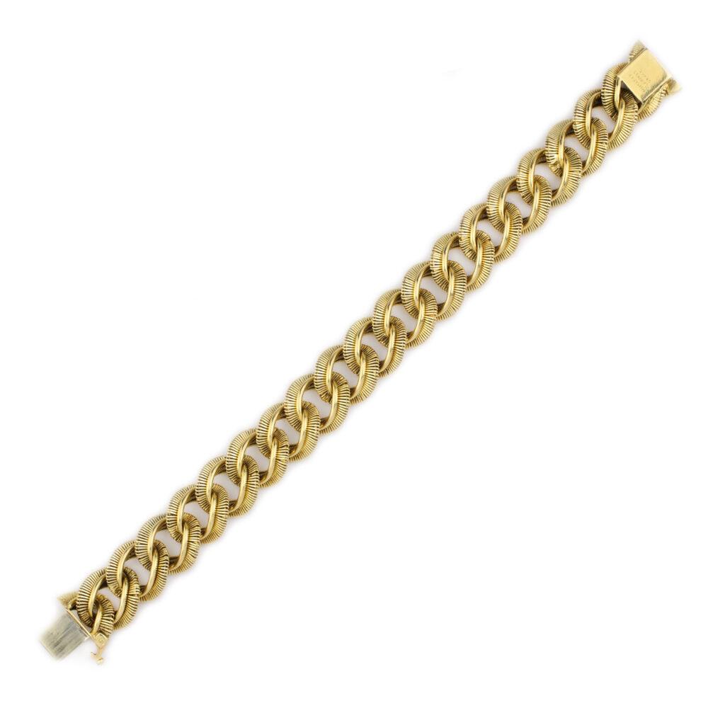 Van Cleef & Arpels Georges L'Enfant Gold Link Bracelet