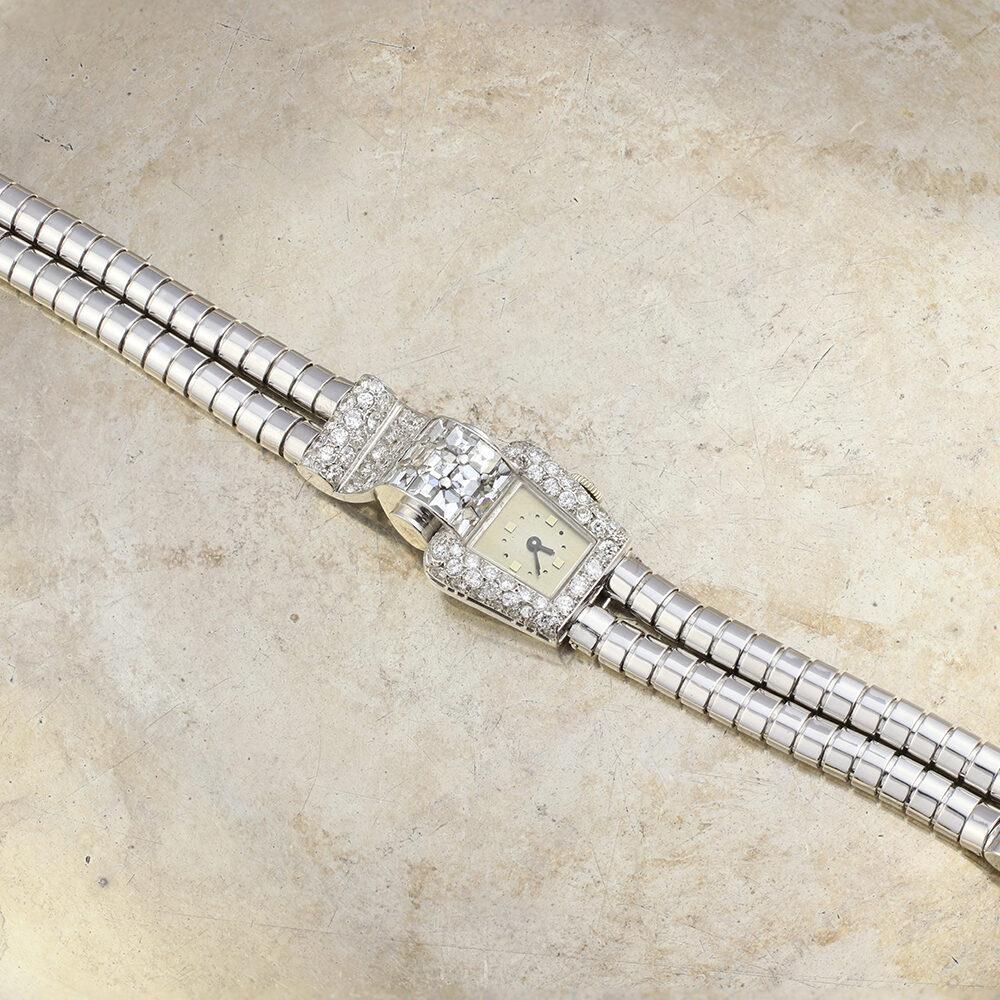 Mauboussin Retro Diamond Set Watch