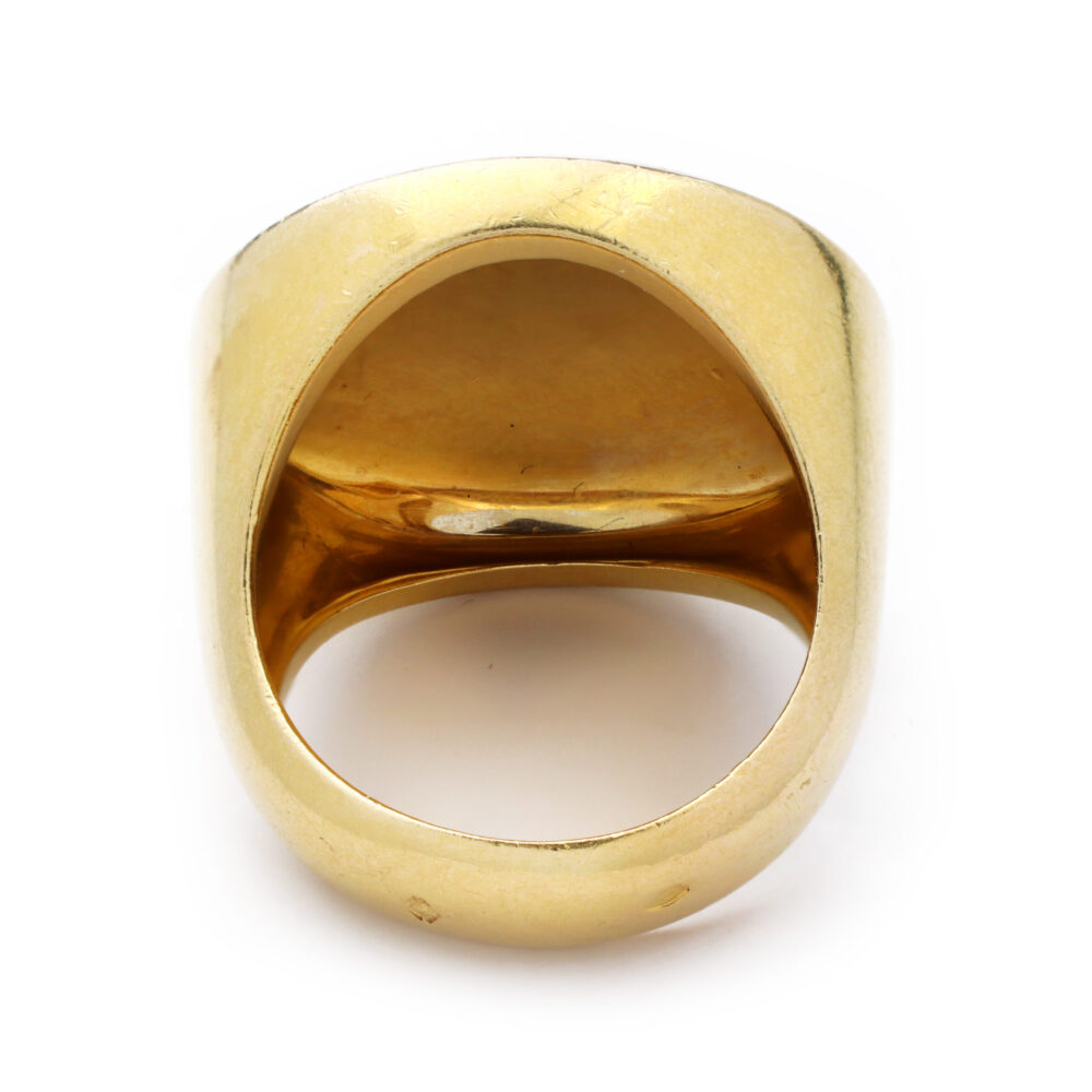Cartier Gold Dome Ring