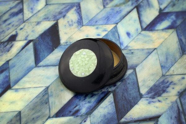 Cartier Black Lacquer Pill Box