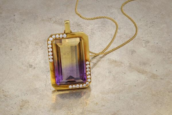 Tiffany & Co. Angela Cummings Ametrine Pendant Necklace