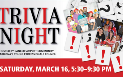 Trivia Night to Benefit Cancer Patients Sold Out on March 16