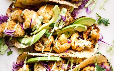 Healthy Récipe:  Alegría y Sabor: Tacos de Coliflor