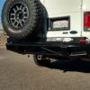 FORD E SERIES REAR BUMPER AND TIRE CARRIRER