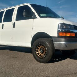 Chevrolet express leveling spacer