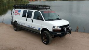 Chevrolet express 4x4 van conversion