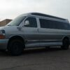 chevrolet express 3500 explorer van with 3 inch lift spindle