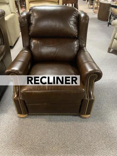 brownleatherchairrecliner_label