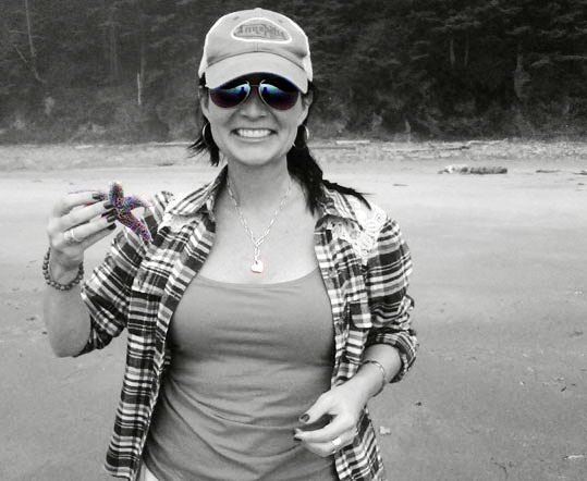 Julie and Starfish in Portland, Oregon