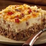 Tex-Mex Cowboy Meatloaf & Potato Casserole