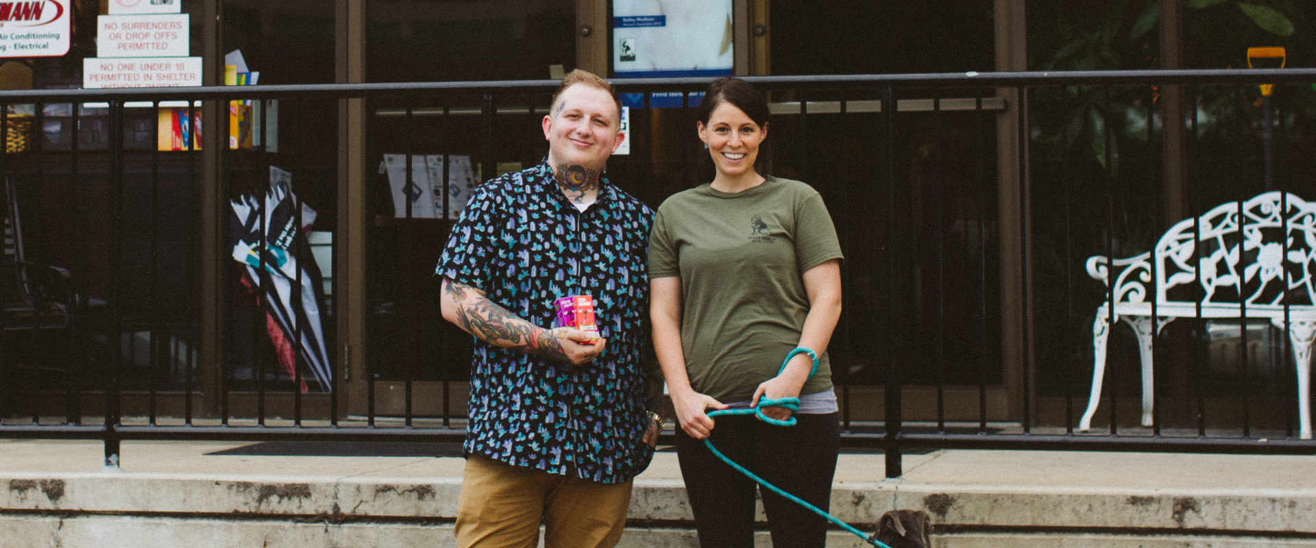 Chemdawg's Cory Sanson meets with Stray Rescue of St. Louis