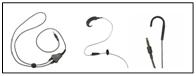 Neckloop, Silhouette, Ear Hook