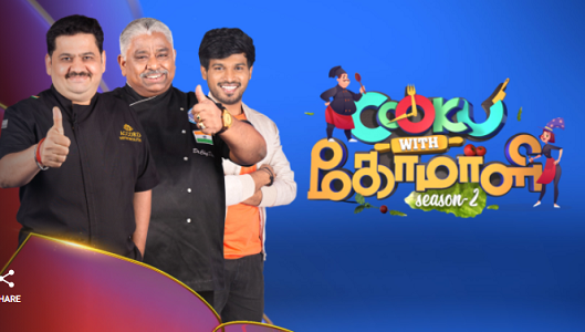 Cook With Comali 3 Contestant List
