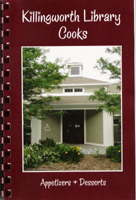 LIBRARY COOKBOOK The official library cookbook, Killingworth Library Cooks Appetizers & Desserts, is now available for sale. Perfect for hostess gifts, birthdays, the holidays... ~ $8.00 a copy ~ Available at the library, the Cooking Company, and Pizzeria Da Vinci in Killingworth.