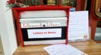 Bring your letters to Santa to the library!