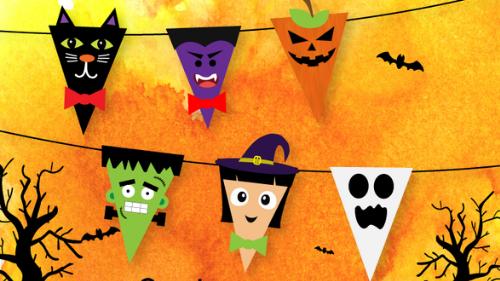 Halloween Characters Activity