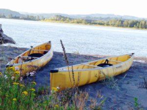 Wenonah Encounter Kevlar Canoe Columbia River- www.PaddlePeople.us