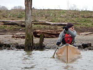 Wenonah Voyager Kevlar Canoe - www.PaddlePeople.us - Russ Woodward Oregon Willamette River Bridge Paddle
