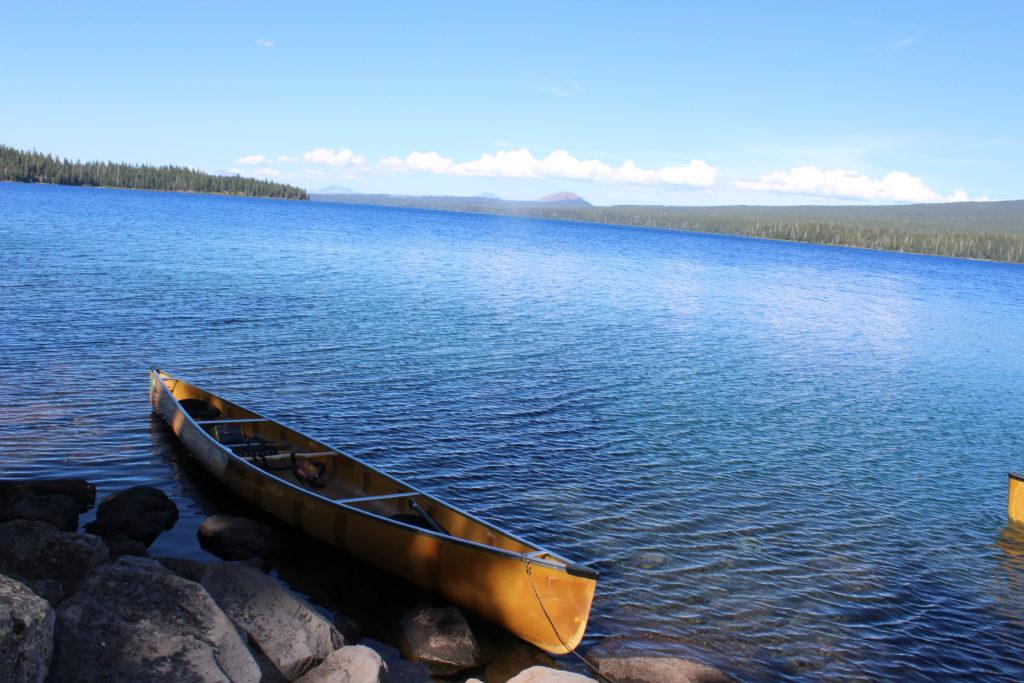 Wenonah Minnesota 3 Kevlar Canoe Waldo Lake Oregon - www.PaddlePeople.us