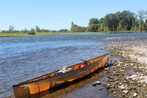 Wenonah Voyager Kevlar Canoe - www.PaddlePeople.us - Willamette River Oregon