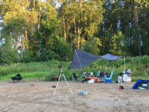 Riverside Camp on Willamette River Oregon - www.PaddlePeople.us