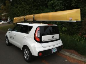 Wenonah Encounter Kevlar Solo Canoe - www.PaddlePeople.us