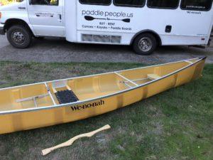 Wenonah Kevlar Escape Canoe - www.PaddlePeople.us