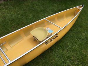 Wenonah Voyager Kevlar Solo Canoe - www.PaddlePeople.us