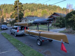 Malone MicroSport Canoe Kayak Trailer Portland Oregon