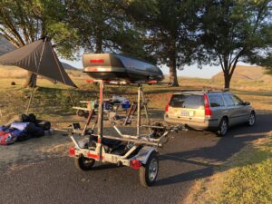 MicroSport Malone Canoe Kayak Trailer
